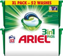 Ariel 3 in1 Pods Regular - Pack 52
